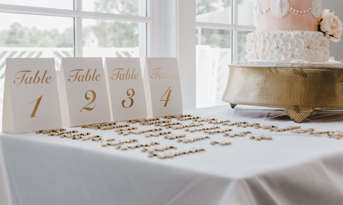 10 Creative Ways to Display Your Table Numbers