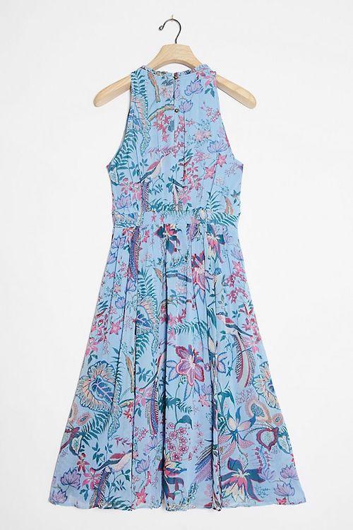 Anthropologie Hermia Midi Dress