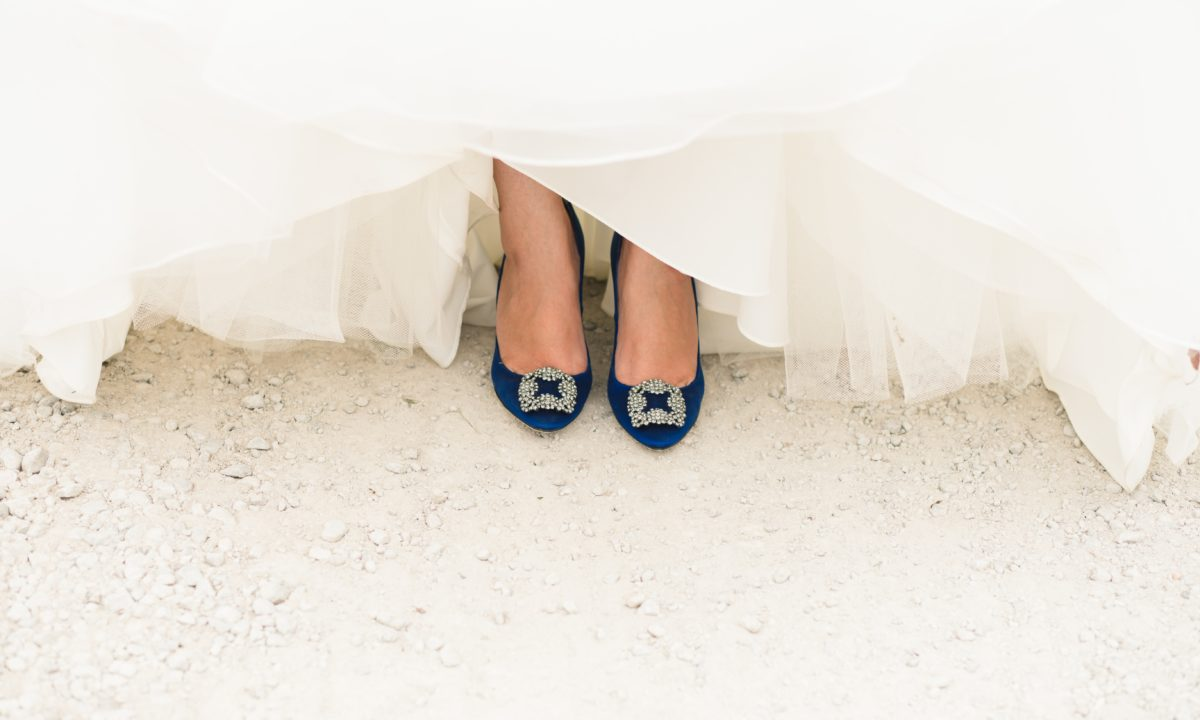 10 Something Blue Ideas to Wear on Your Wedding Day
