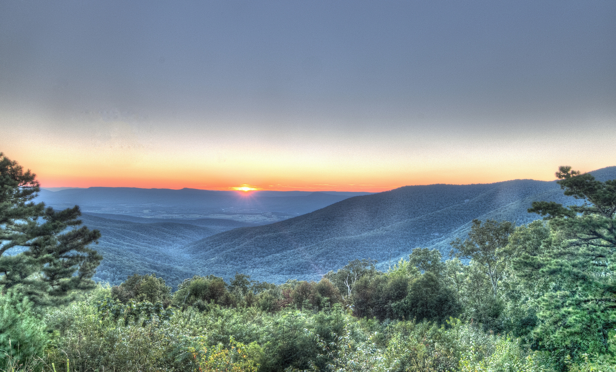 Blue Ridge Mountains, USA