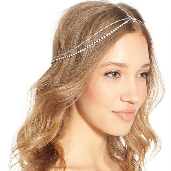 Embellished Hair Chain