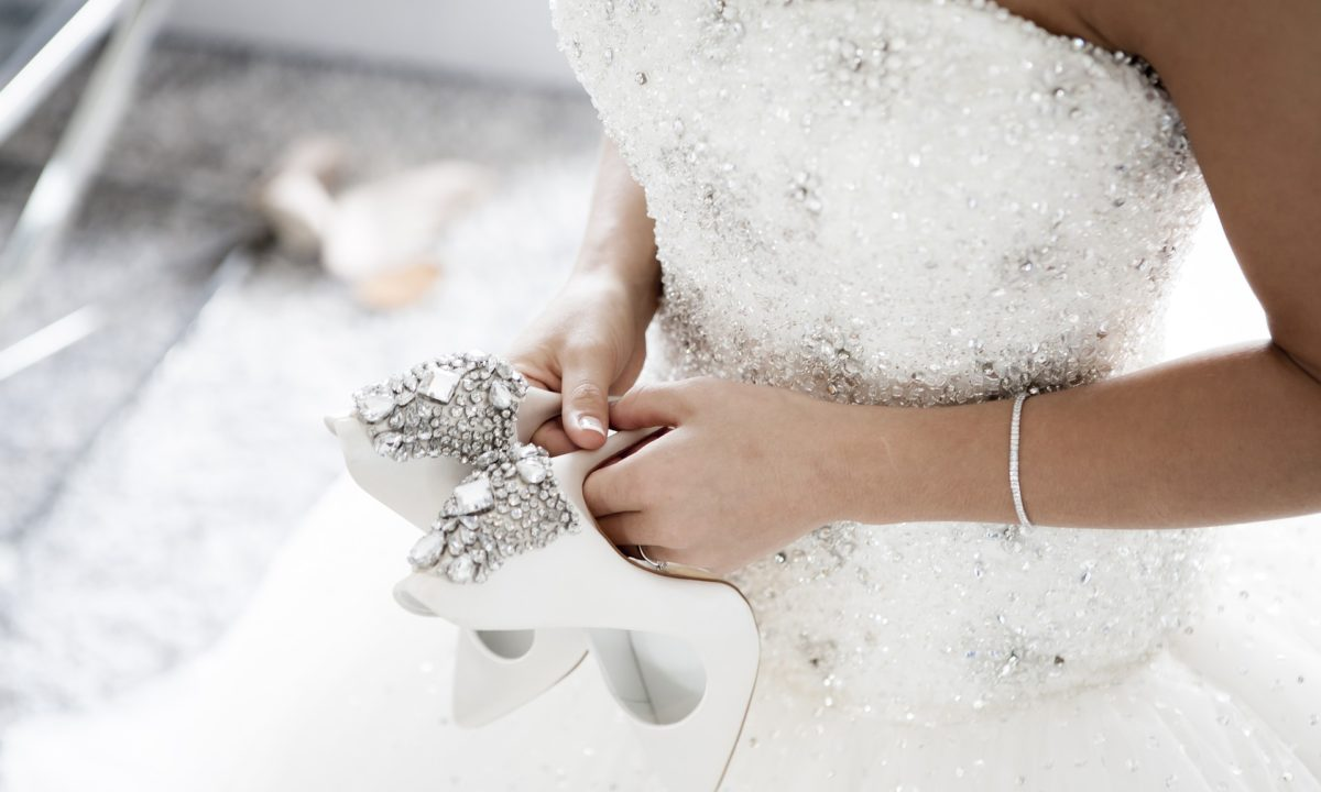 Cinderella-Worthy Wedding Shoes You'd Never Leave Behind