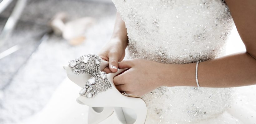 Check out these enchanting wedding shoes to complete the fairy tale wedding of your dreams.