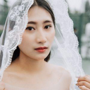 11 Chapel Length Wedding Veil Ideas You'll Love