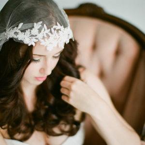 Enchant in a Juliet Cap Veil