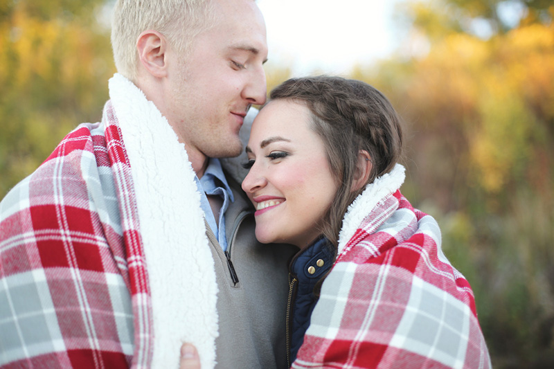 Emilee & Wade's Cute Sioux City, IA Engagement Session by Impressions Photography