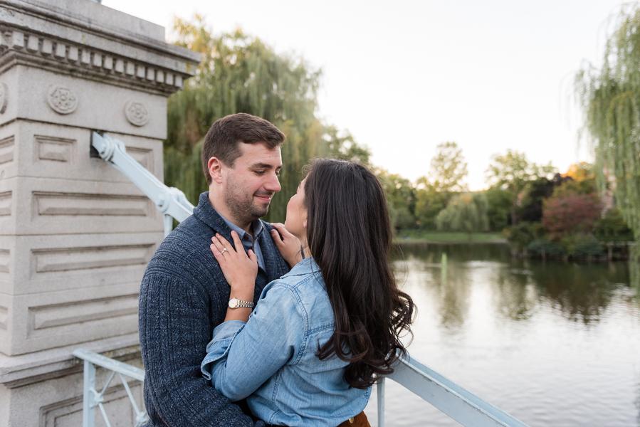 Rachel & Patrick's Charming Boston, MA Engagement Session by Morgan O'Neil Photography