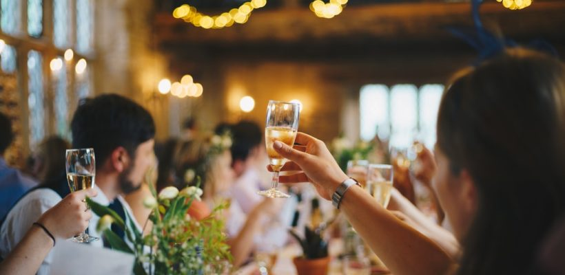 Pop, fizz, clink to the prettiest engagement party picks.