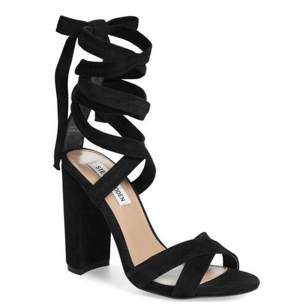 Christey Wraparound Ankle Tie Sandal