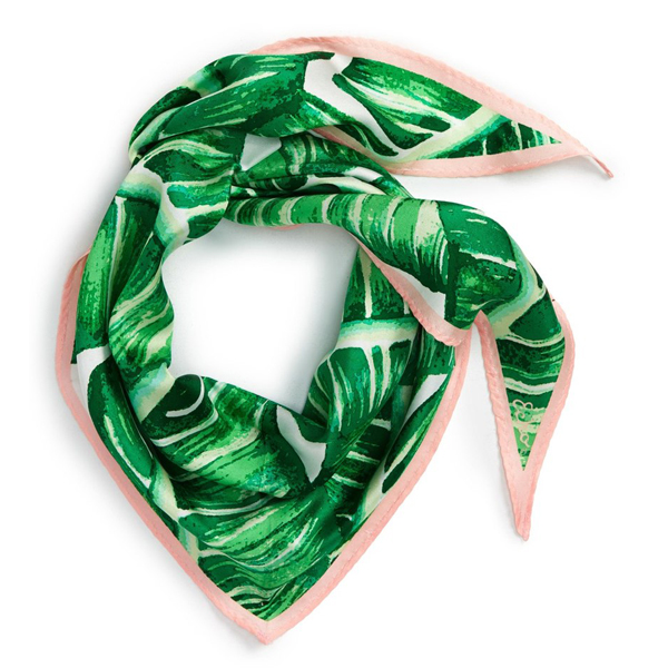 Echo Palm Silk Scarf