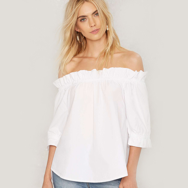 Cloud Nine Off-the-Shoulder Top