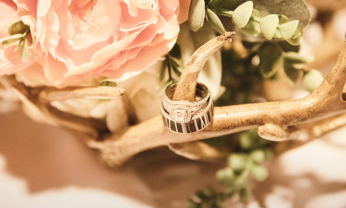 Stunning Photos of Real Engagement Rings from Real Weddings