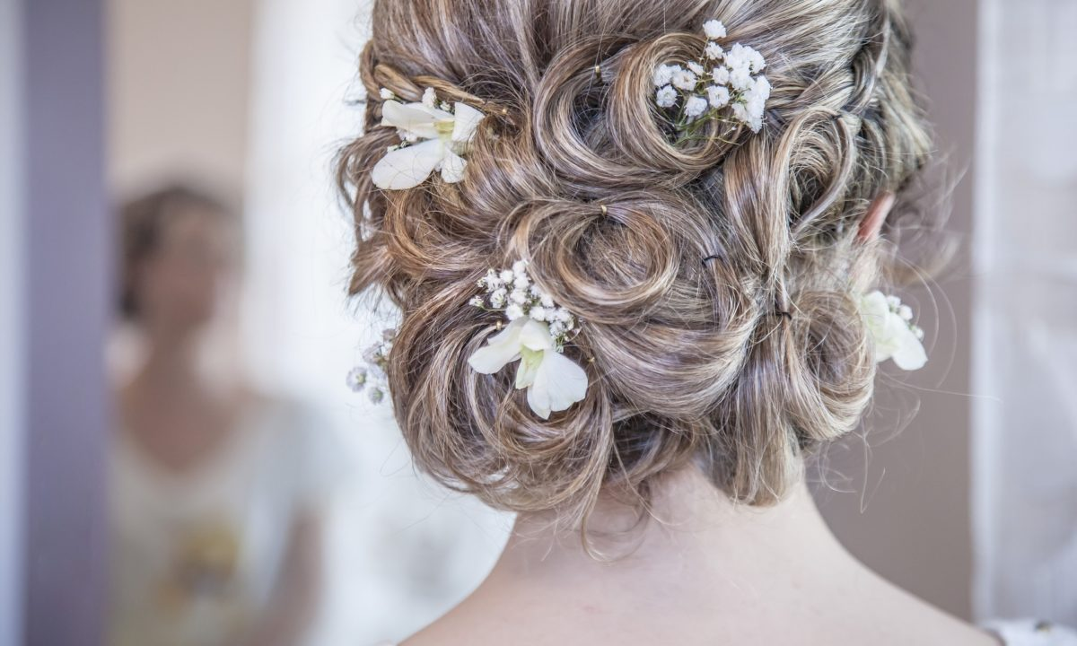 Real Inspiration for the Perfect Wedding Updo