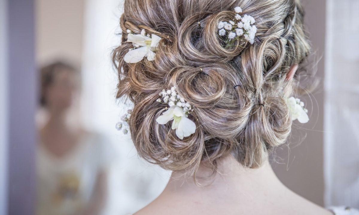 Simple Wedding Hair Accessories