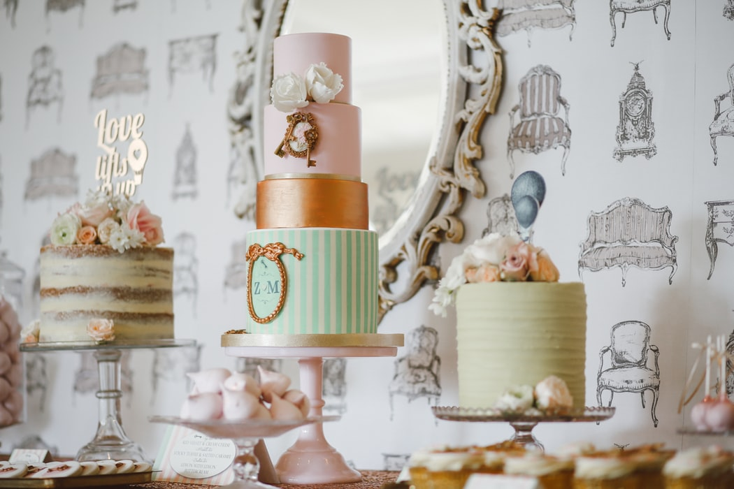 Pretty Pastel Wedding Cakes for Your Big Day
