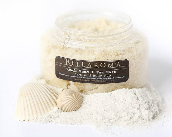 Bellaroma Beach Sand + Sea Salt Foot Body Rub