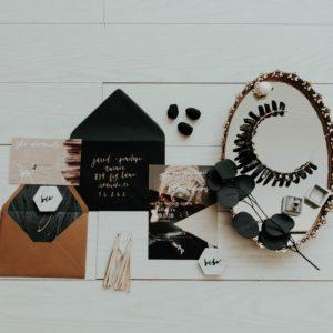 12 Stylish Fall Wedding Invitations