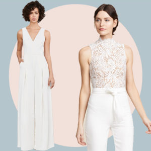 9 Chic Wedding Jumpsuits That Will Make You Rethink Your Wedding Dress