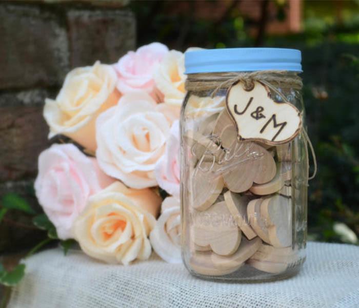 Guest Book Date Jar