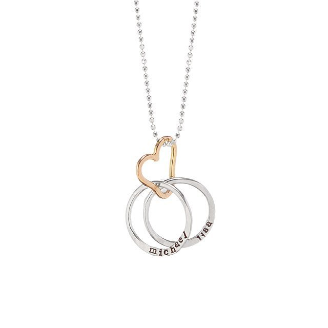 Uncommon Goods Personalized All Heart Necklace