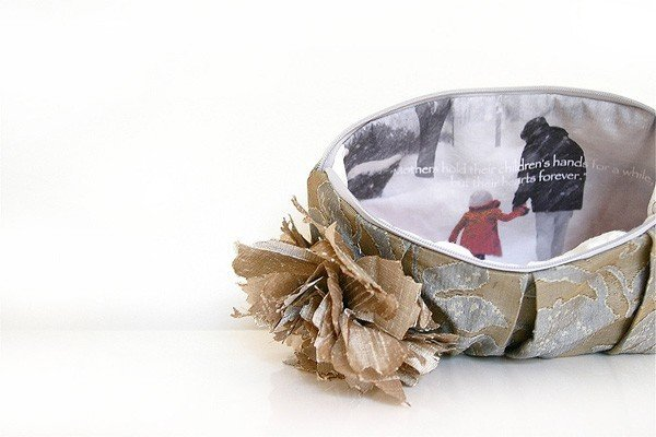 Eclu Personalized Photo Clutch