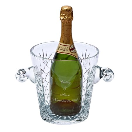 Personalized Medallion Ice Bucket