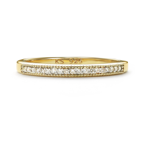 Kendra Scott Ensley Band Ring in White Diamond