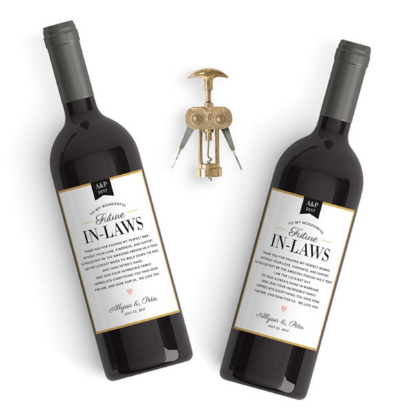 In-Law Wine Labels