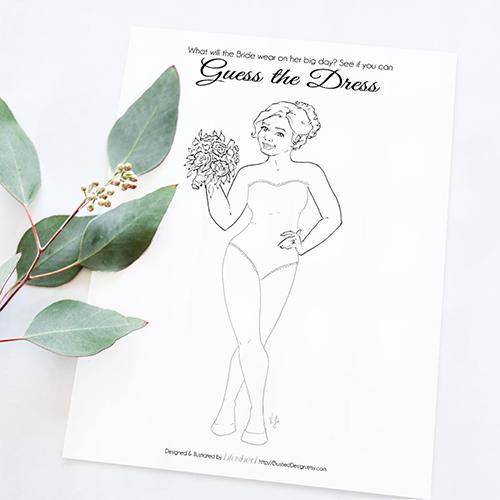 Blushed Design Curvy Bride Game