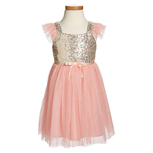 Popatu Sequin Bodice Tulle Dress