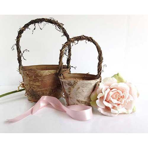 The Bashful Bride Bohemian Chic Basket