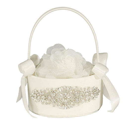 LAPUDA Two-Piece Rhinestone Basket