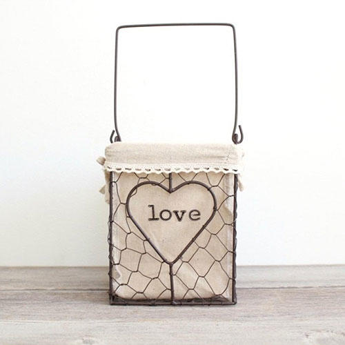 The Lonely Heart Co. Farmhouse Basket