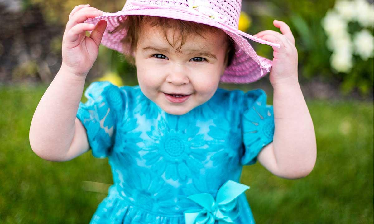 Best Blue Flower Girl Dresses