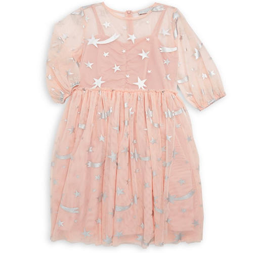Stella McCartney Kids Little Girl's & Girl's Foil Star Dress