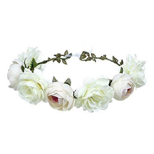 June Bloomy Rose Floral Crown
