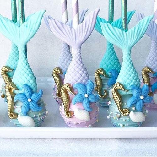 Crave a Cake Goods Mermaid Cake Pops