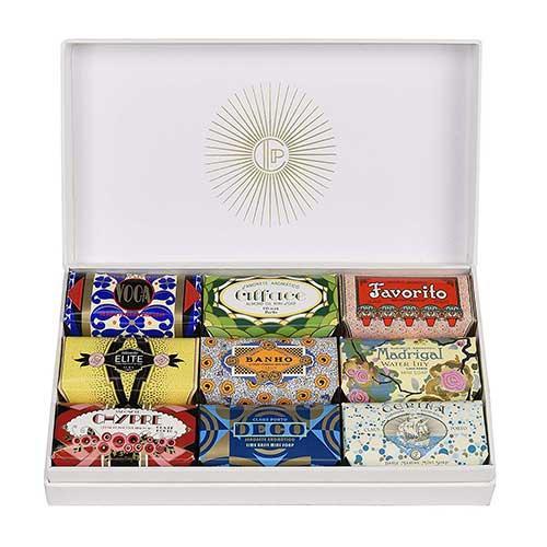 Claus Porto Gift Box Deco Collection of Soaps
