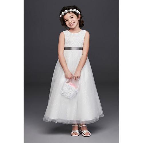 David's Bridal Dress with Heart Cutout