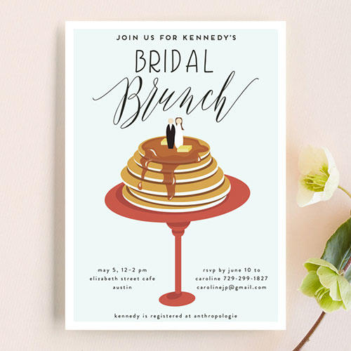 Haley Warner Bridal Brunch Invite