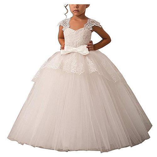 Abaowedding Cap Sleeve Dress