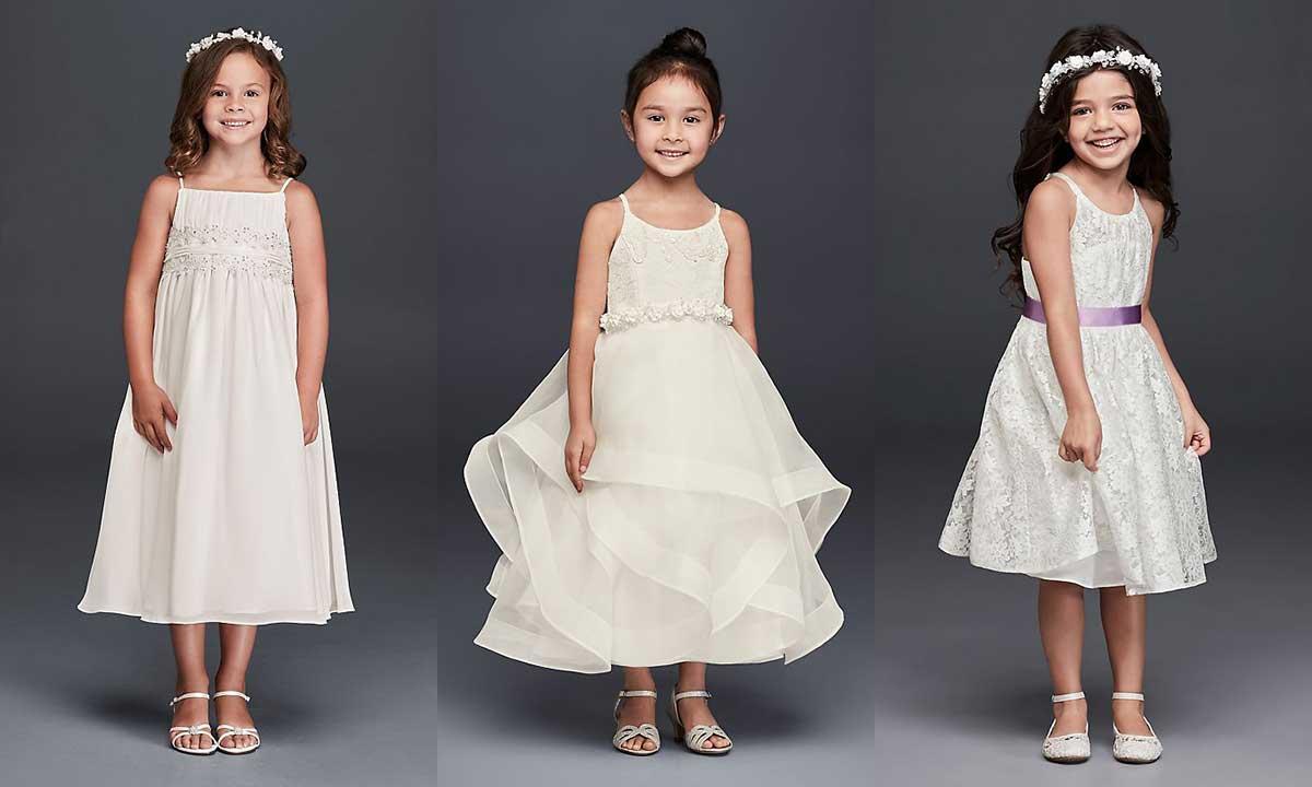 Best David's Bridal Flower Girl Dresses