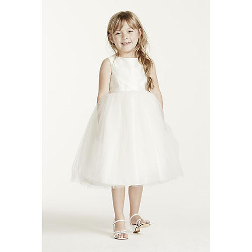Tulle and Ribbon Waist Dress