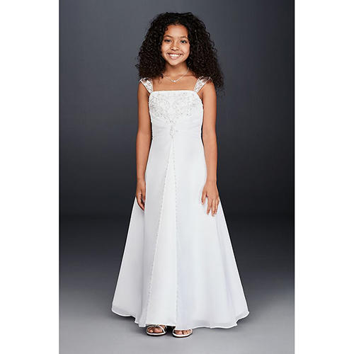 Full-Length Dress with Straps