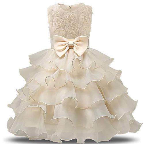 NNJXD Ruffled Dress