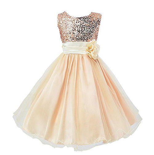 Wocau Sequin Mesh Dress