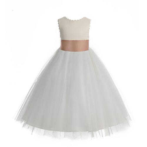 ThaliaSDesign V-Back Tulle Dress