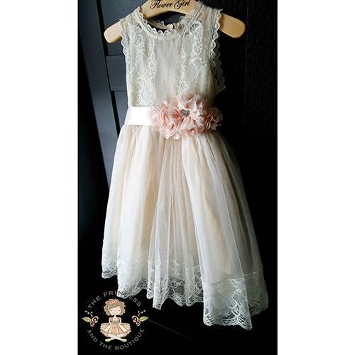 ThePrincessandtheBou Rustic Dress