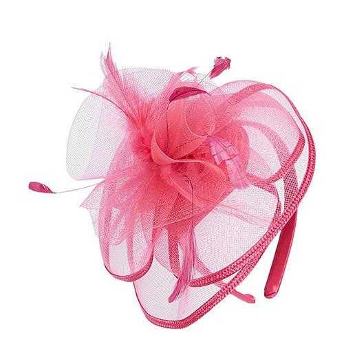 Edgehill Collection Girl's Duchess Fascinator Headband