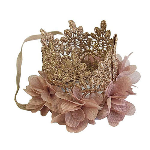 Kirei Sui Baby Flower Lace Crown Headband